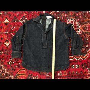Marni Woman's Collared Denim Shirt, IT36/US0